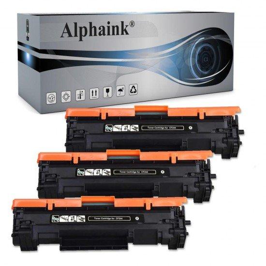 3 Toner Hp CF244X Nero Compatibili