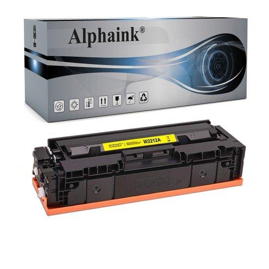 Toner per HP W2212A Giallo NO CHIP Compatibile