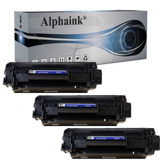 3 Toner HP CF279A Nero Compatibili