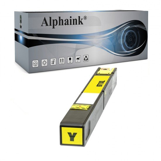 Cartuccia HP 971 XL Y Giallo Compatibile