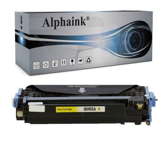 Toner HP Q6002A Giallo Compatibile