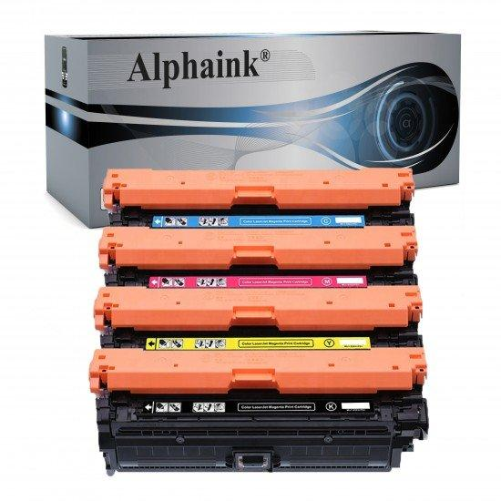 4 Toner HP CF360 Nero + Colore Compatibili