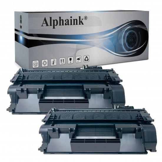 2 Toner HP CE505A Nero Compatibili