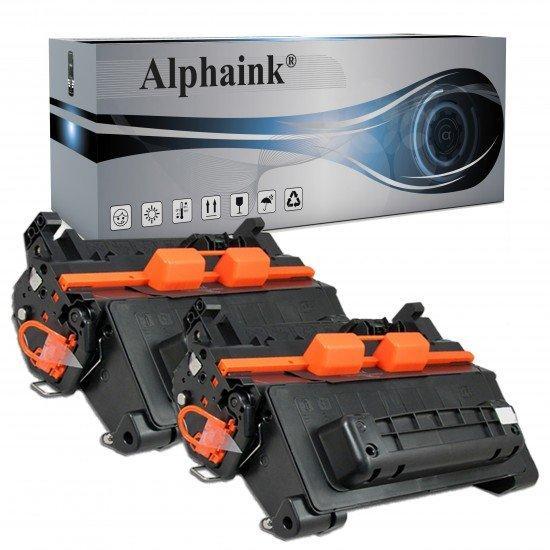 2 Toner  HP Laserjet Enterprise CE390X Compatibile