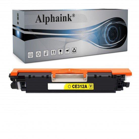 Toner HP Laserjet CE312A Giallo Compatibile