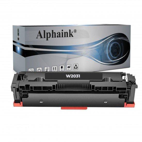 Toner HP W2031X Ciano NO CHIP Compatibile