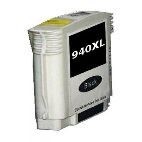 Cartuccia HP 940 XL BK Nero con Chip Compatibile